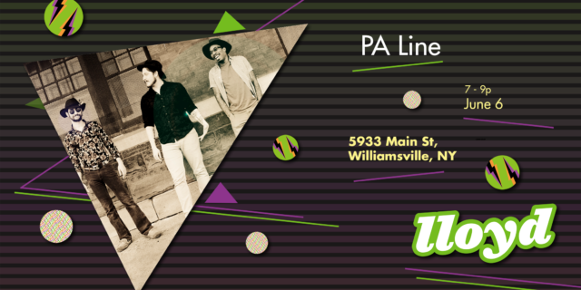PA Line Live Music on Main Poster