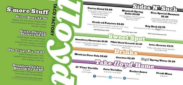 Spring Hasn't Sprung, But Our Spring Menu Has! 5