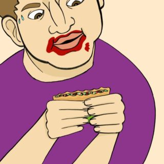 How to Eat a Carne Asada Burrito 5