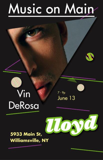 Vin DeRosa Makes You Dance. Live Music at lloyd Lives On! 1